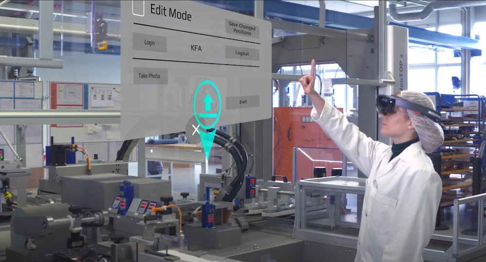 AR augmented reality biotech manufacturing