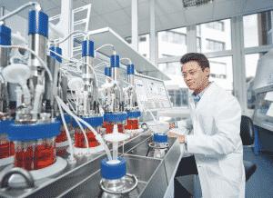 multi-specific antibodies, bioreactor, biomanufacturing, lab-grown meat, cultured meat